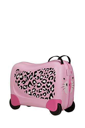 Samsonite Dream Rider - Kindergepäck, 51 cm, 28 L, Rosa (Leopard L)