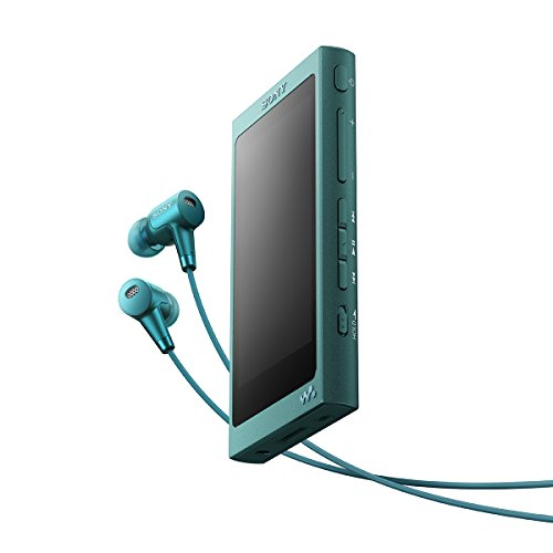 ソニー SONY ウォークマン Aシリーズ 32GB NW-A36HN : Bluetooth/microSD/ハイレゾ対応 ノイズキャンセリング機能搭載 ハイレゾ対応イヤホン付属 ビリジアンブルー NW-A36HN L