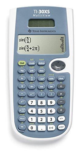 Birkhold 30 X S MV MultiView Texas Instruments Schulrechner, blau, taschenrechner