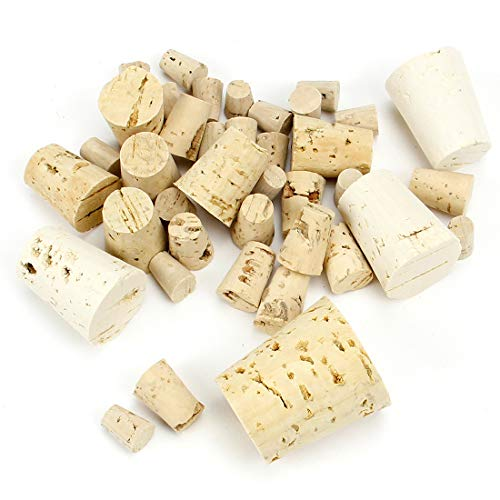 Hygloss Cork Stoppers, Assorted Sizes, 40 Pcs.