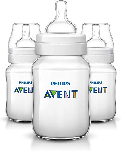 Philips Avent SCF563/37 Klassik+ Flasche 260ml, 3er-Pack, transparent