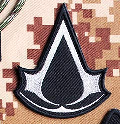 A-ssassin's Creed Embroidery Patch Military Tactical Clothing Accessory Backpack Armband Sticker Gift Patch Decorative Patch Embroidered Patch