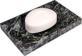 GMRS Marble Soap Dish/Soap Tray - Beautifully Crafted Bathroom Accessory (Green)