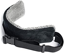 The ORIGINAL SeatSleeper Travel Head Support Pillow – Straps to Headrest So You Can Get Good Sleep on a Plane & Stay Uprig...