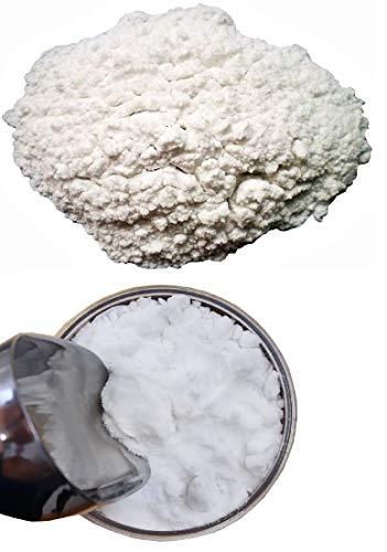 KIRALOVE Allume di Rocca Pietra Cristalli - Solfato Doppio di Alluminio e Potassio - Ignifugo - Dodecaidrato - Additivo per Gessi - Indurente - Antibatterico - Mordente - Fissativo - 1Kg