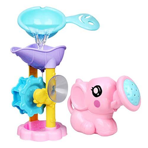 Yooyg Juego de 3 piezas de juguetes de playa para bebés y niños, juguetes de playa, juguetes de arena, para niños pequeños, juguetes de baño para padres e hijos interactivos de agua