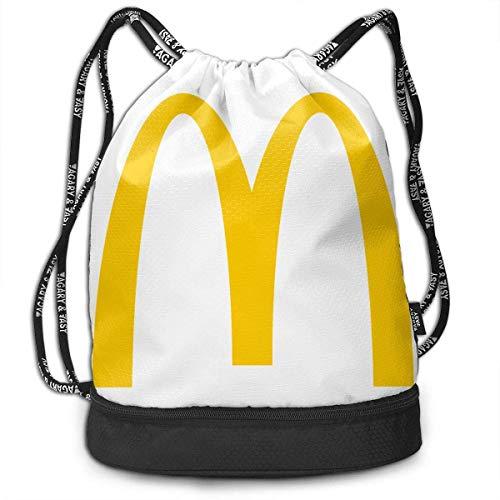 Rucksack mit Kordelzug McDonalds_Logo Print Leisure Backpack