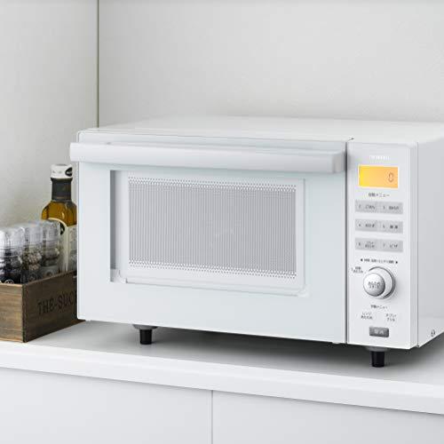 ツインバード『センサー付フラットオーブンレンジ(DR-E852W)』