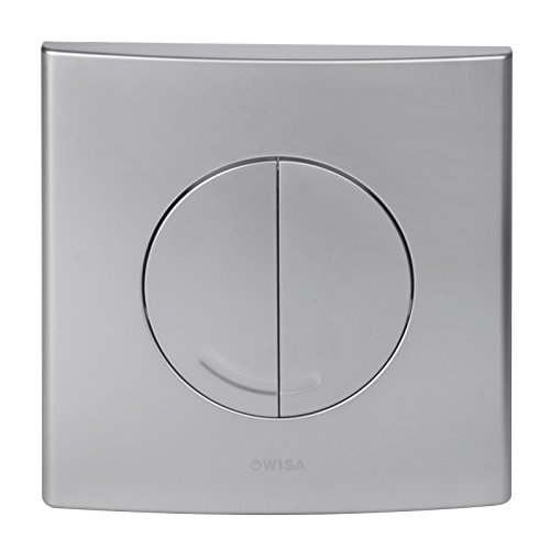 WISA XS Excellent WC Bedienungsplatte Argos DF matt chrom