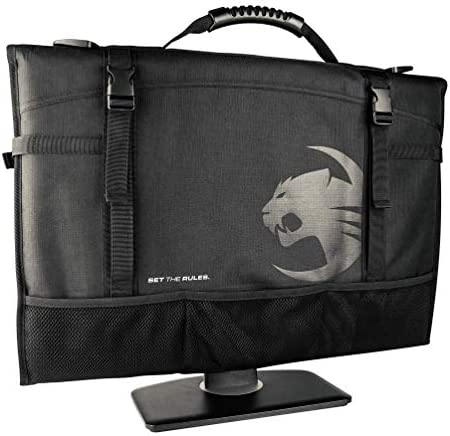 ROCCAT Latest Version Tusko Across The Board Flat Screen Widescreen Bag Black 24 Inch product image