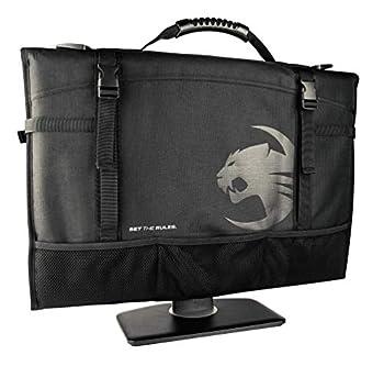ROCCAT Latest Version Tusko Across-The-Board Flat Screen/Widescreen Bag Black 24 Inch