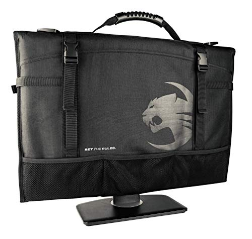 ROCCAT Latest Version Tusko Across-The-Board Flat Screen/Widescreen Bag, Black, 24 Inch