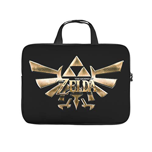 Zelda Laptop Case Sleeve Bag Water Resistant Briefcase for Notebook/MacBook/Ultrabook/Chromebook White 15 Zoll