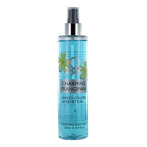 United Colors of Benetton Body Mist, Charming Frangipani, 8.4 Ounce by United Colors of Benetton