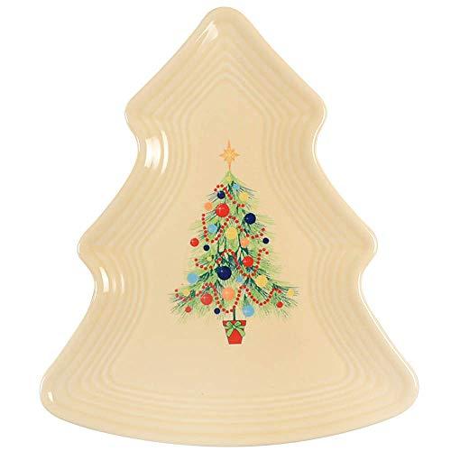 Fiesta Christmas Tree Plate