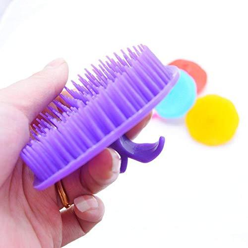Novel Huisdier Haargroei Shampoo Hoofdhuid Body Massager Schone Borstel Kam Huisdieren Producten Verzending 5 Stks