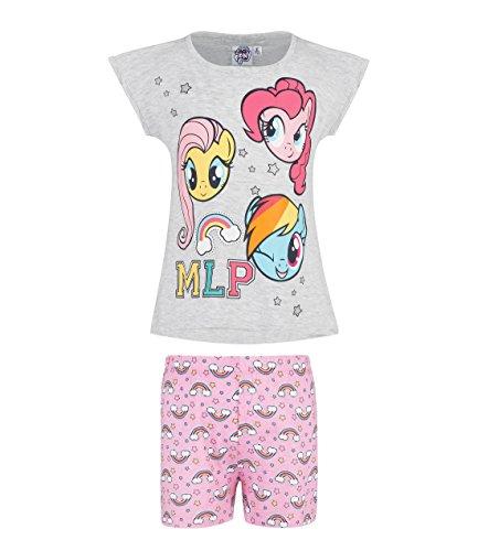 My Little Pony Mädchen Shorty-Pyjama - grau - 116