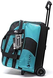 Pyramid Path Deluxe Double Roller with Oversized Accessory Pocket Bowling Bag