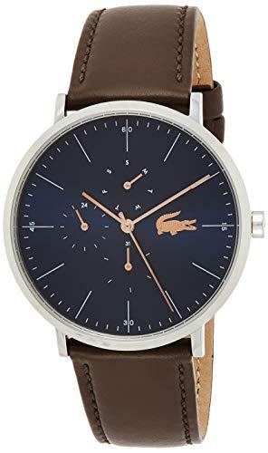 Lacoste Reloj Multiesfera para Hombre de Cuarzo con Correa en Cuero 2010976