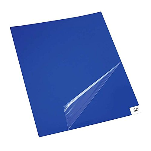 "10 mats/Box, 30 Layers per mat, 300 Layers per Box,36"" x 45"", 4.5 C Blue Sticky mat, Cleanroom Tacky Mats/PVC Sticky Mats/Adhesive Pads, Used for Floor (for Home/Laboratories/Medical Offices use)"