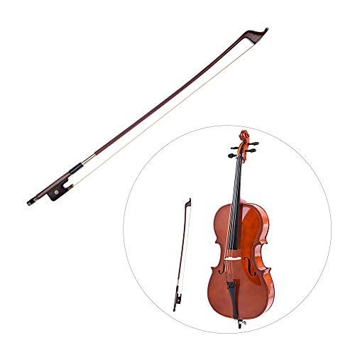 Französischer Stil Bögen für Kontrabass Größe 4/4 Brasilianischer Bogen Rosshaarbogen Haar Great Balance Point Orchestersaiten Zubehör