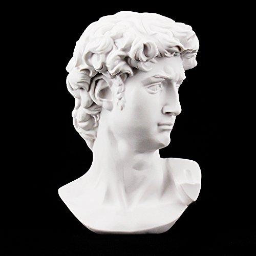 Airgoesin David Busto Escultura Estatua Escultura Escultura Escultura Esquema Dibujo yeso fundido Artista Modelo Decoración