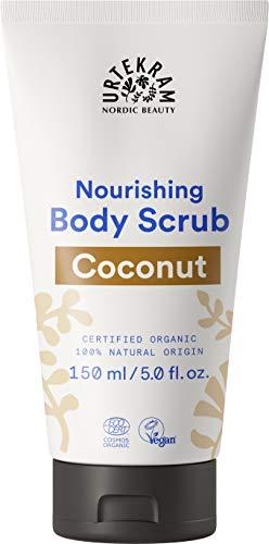 Urtekram Kokos Body Scrub BIO, mit nährendem, nativem Kokosöl, 150 ml