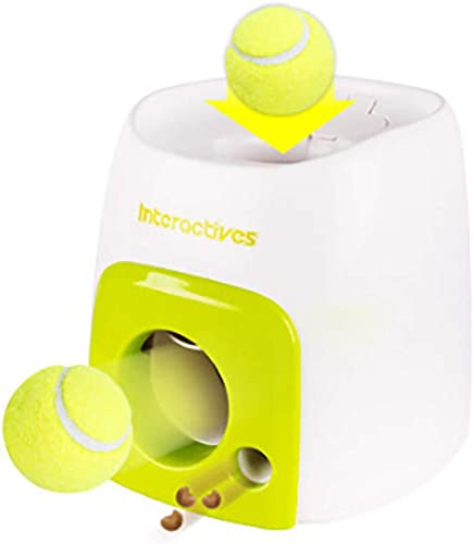 2021 Interactive Automatic Ball Launcher for Dogs, Dog wholesale Tennis Ball Throwing Machine for Small, online sale Medium Large Size online