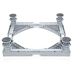 JY Hong Cheng Washing Machine Base Multi-functional Heavy Duty 4 Strong Feet Adjustable Base for Refrigerator and Dryer