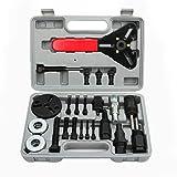 Kit de Herramientas de instalación de Extractor de Cubo de Embrague de compresor Herramientas de reparación de automóviles