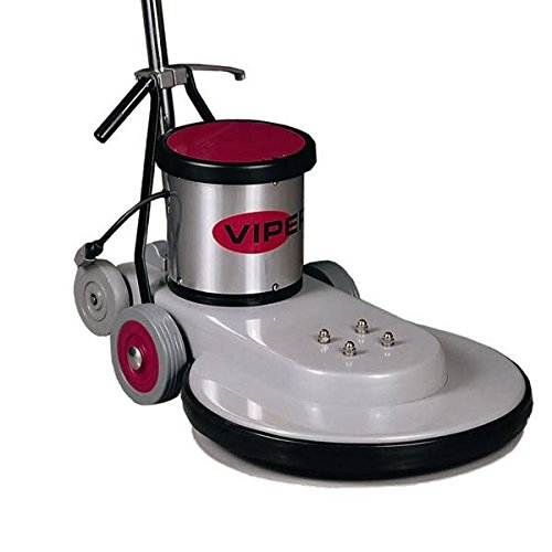 Viper Cleaning Equipment VN1500 Venom Series High Speed Floor Burnisher, 20' Deck Size, 1500 RPM Brush Speed, 110V, 50' Power Cable, 1.5 hp, 2 5' Non-Marking Wheels