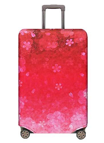 Kenebo Elastico Viaggio Viaggio Copri Bagagli Viaggio Accessori Valigia Copre Bagagli Copertura Di Carrelli Fiori di Ciliegio 29-32 Inch