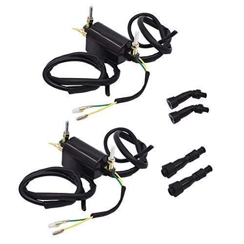 WFLNHB 12 Volts Ignition Coil Fit for Kawasaki KZ/Suzuki GS/Honda CB 500 550 350 650 700 750 900