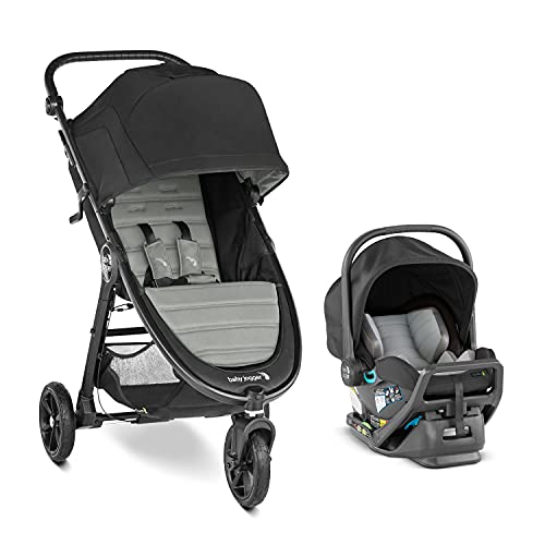 Baby Jogger City Mini GT2 All-Terrain Travel System   Includes City GO 2 Infant Car Seat, Slate