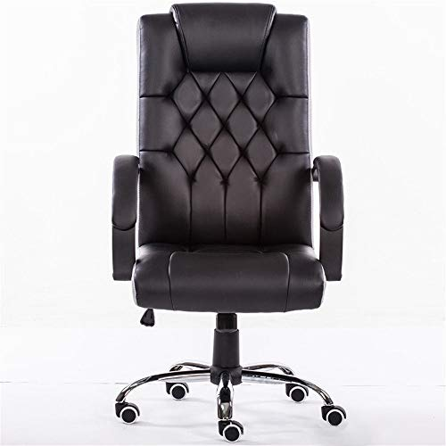 Computer Home Office Game Chair Moderner langlebiger Mesh-Tisch und Stuhl rotierende Ergonomie Heben einfacher Bürostuhl,Black