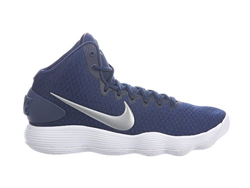 Nike New Mens Hyperdunk 2017 TB Basketball Shoes Midnight Navy/Silver sz 11.5M
