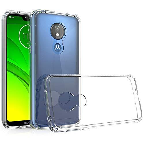 betterfon | Transparent Cover für Motorola Moto G7 Power Handy Hülle Silikon Hülle Schutz Tasche TPU Silikon Schutzhülle Outdoor Hybrid Hardcase