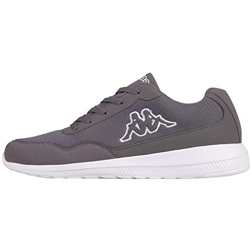 Kappa Follow, Zapatillas Unisex Adulto, Gris (Anthracite/White 1310), 44 EU