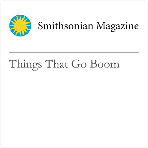 Things That Go Boom audiobook cover art