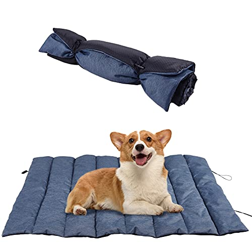 Fienveorn Outdoor Dog Bed, Waterproof, Washable,Easy to Clean,Durable, Portable and Camping Travel Pet Mat,31×23 inches