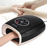 Massaggiatore manuale con funzione di riscaldamento Massaggiatore manuale per mani Vibrazione Cura delle mani Ricarica manuale Tipo di dito a mano Massaggiatore pratico(04)