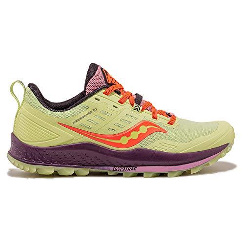Saucony Women's Jackalope 2.0 Peregrine 10 Trail Running Shoe - Color: Jackalope - Size: 8 - Width: Regular