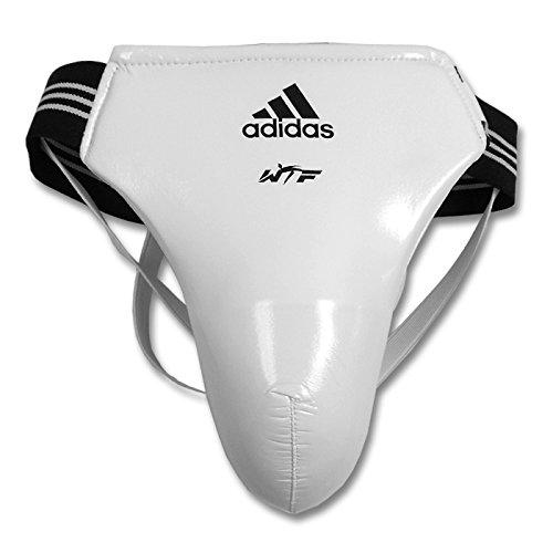 Adidas Herren WTF Tiefschutz Cup Displayschutzfolie Martial Arts–Weiß, L