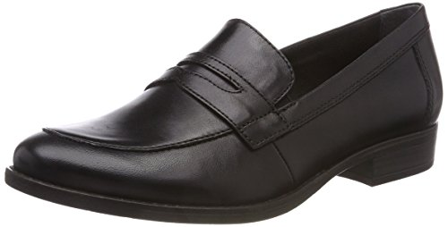 Tamaris 24215, Women's Loafers, Black (Black 001), 4 UK (37 EU)