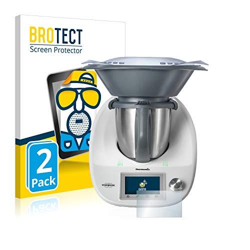 BROTECT 2X Entspiegelungs-Schutzfolie kompatibel mit Vorwerk Thermomix TM5 Displayschutz-Folie Matt, Anti-Reflex, Anti-Fingerprint