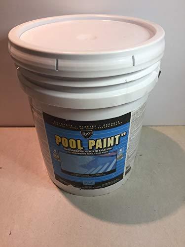 Pool Paint 5-gal. Ocean Blue Semi-Gloss Acrylic Exterior Paint