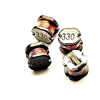 100個 CD54 33UH SMD power inductors