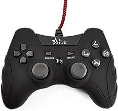 Controle Joystick Com Fio Usb Ps3 Pc Smash Feir 218A Preto