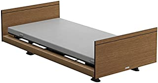 パラマウントベッド 電動ベッド インタイム1000 マットレス付 3モーター ヨーロピアン フットボードあり (ブラウン) RQ-1335SB+RM-E531 【4梱包】