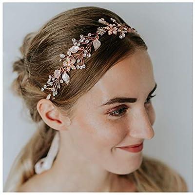 SWEETV Braut Stirnband Bohemien